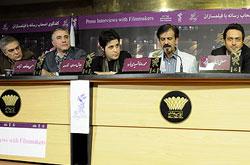 گزارش ویدیویی/ نشست رسانه ای فیلم جیب بر خیابان جنوبی به کارگردانی سیاوش اسدی در سالن سعدی مر کز همایشهای برج میلاد برگزار شد