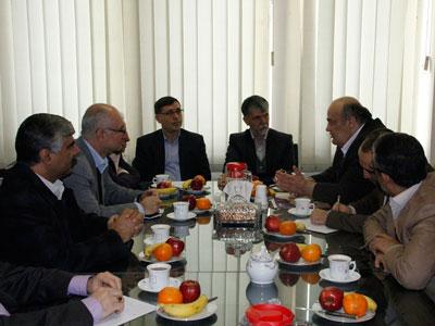 دیدار صالحی با نمایندگان اقلیتهای دینی مجلس شواری اسلامی