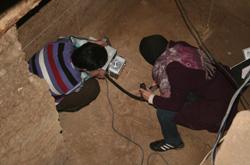 مستند سازی و اسکن نوری سه بعدی از اسکلت زن ۷هزار ساله تهران