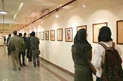 نمایش آثار برگزیده چلیپا در نگارخانه گلستان