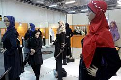 بازدید قبادی از دومین نمایشگاه لباس ایرانی