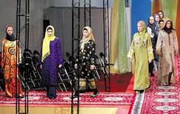 بر پایی گالری آثار هنری برگزیده در جشنواره مد و لباس فجر